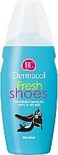 Духи, Парфюмерия, косметика Спрей для ног и обуви освежающий - Dermacol Fresh Shoes Spray