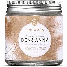 Духи, Парфюмерия, косметика Зубной порошок с корицей - Ben & Anna Toothpowder Cinnamon