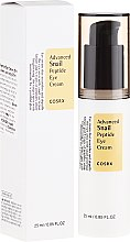 Духи, Парфюмерия, косметика Крем для кожи вокруг глаз с пептидами и улиткой - Cosrx Advanced Snail Peptide Eye Cream