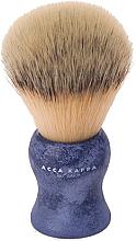 Духи, Парфюмерия, косметика Помазок для бритья - Acca Kappa Shaving Brush Natural Style Blue