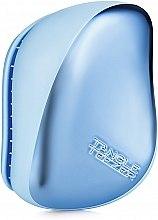 Духи, Парфюмерия, косметика Компактная щетка для волос - Tangle Teezer Compact Styler Sky Blue Delight Chrome