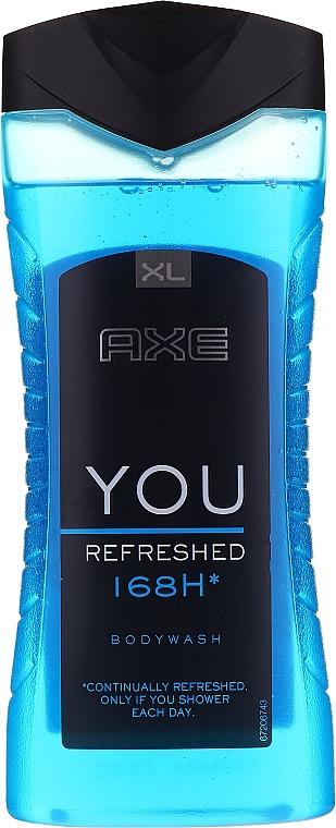 Гель для душа - Axe You Refreshed Shower Gel — фото N3