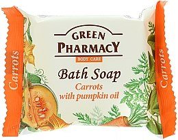 """Духи, Парфюмерия, косметика Мыло """"Морковь с маслом тыквы"""" - Green Pharmacy"""