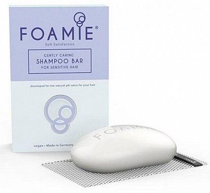 Твердый шампунь для волос - Foamie Soft Satisfaction Shampoo Bar — фото N2