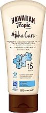 Духи, Парфюмерия, косметика Солнцезащитный лосьон для тела - Hawaiian Tropic Aloha Care Protective Sun Lotion Mattifies Skin SPF 15