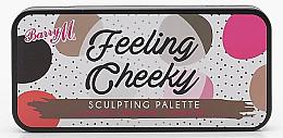 Духи, Парфюмерия, косметика Палета для контуринга - Barry M Feeling Cheeky Sculpting Palette