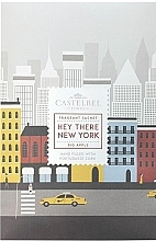 Духи, Парфюмерия, косметика Ароматическое саше - Castelbel Hey There New York Sachet