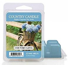 Духи, Парфюмерия, косметика Воск для аромалампы - Country Candle Country Love Wax Melts