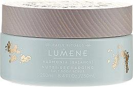 Духи, Парфюмерия, косметика Восстанавливающий соляной скраб для тела - Lumene Harmonia Nutri-Recharging Salt Body Scrub