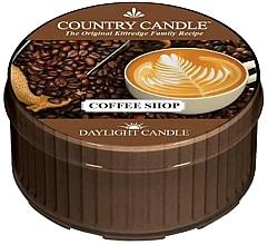 Духи, Парфюмерия, косметика Чайная свеча - Country Candle Coffe Shop Daylight
