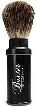 Духи, Парфюмерия, косметика Помазок для бритья - Baxter Professional Travel Brush Pure Badger