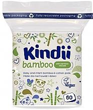 Духи, Парфюмерия, косметика Ватные диски для младенцев и детей - Kindii Bamboo Cotton Pads