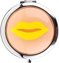 Духи, Парфюмерия, косметика Зеркальце косметическое, 85680, желтое - Top Choice