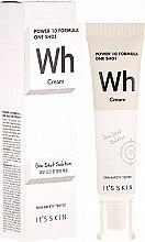 Духи, Парфюмерия, косметика Крем для лица выравнивающий тон - It's Skin Power 10 One Shot WH Cream