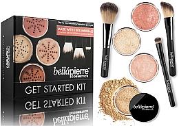Духи, Парфюмерия, косметика Стартовый набор для макияжа - Bellapierre Get Started Kit Medium