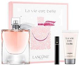 Духи, Парфюмерия, косметика Lancome La Vie Est Belle - Набор (edp/100ml + b/lot/50ml+mascara/2ml)