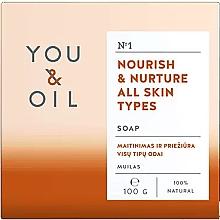 Духи, Парфюмерия, косметика Питательное мыло для всех типов кожи - You & Oil Nourish & Nurture All Skin Types