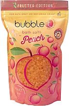 """Духи, Парфюмерия, косметика Соль для ванны """"Персик"""" - Bubble T Cosmetics Bath Salt Peach"""