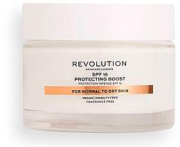 Духи, Парфюмерия, косметика Увлажняющий крем с SPF15 для нормальной и сухой кожи - Revolution Skincare Moisturizing Cream SPF15