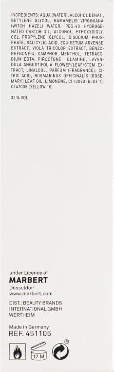 Очищающий лосьон для жирной кожи - Marbert Pura Clean Regulating Lotion — фото N3