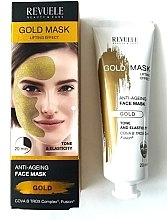 Духи, Парфюмерия, косметика Маска для лица - Revuele Gold Face Mask Lifting Effect Anti-Age