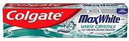Духи, Парфюмерия, косметика Зубная паста отбеливающая - Colgate Max White White Crystals