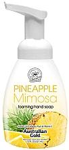 "Духи, Парфюмерия, косметика Мыло-пенка для рук ""Ананас и мимоза"" - Australian Gold Foaming Hand Soap Pineapple Mimosa"