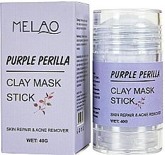 "Духи, Парфюмерия, косметика Маска-стик для лица ""Purple Perilla"" - Melao Purple Perilla Clay Mask Stick"