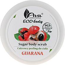 "Духи, Парфюмерия, косметика Скраб для тела ""Гуарана"" - Ava Laboratorium Eco Body Natural Sugar Scrub Guarana"