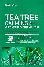 Духи, Парфюмерия, косметика Успокаивающая маска с чайным деревом - Some By Mi Tea Tree Calming Glow Luminous Ampoule Mask