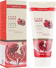 Духи, Парфюмерия, косметика Гранатовая пенка для умывания - Farmstay Pomegranate Pure Cleansing Foam