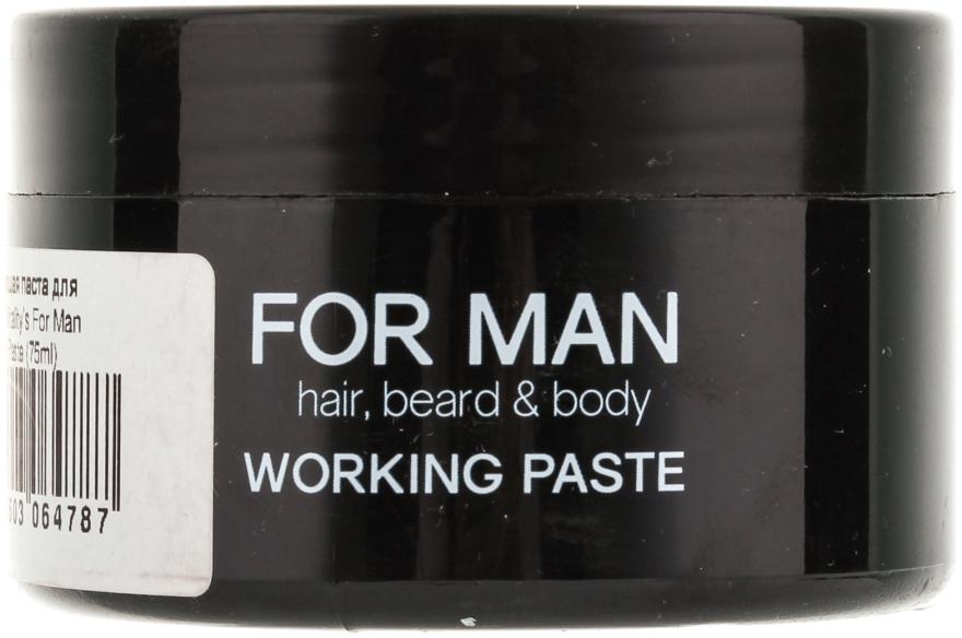 Матирующая паста для волос - Vitality's For Man Working Paste — фото N2