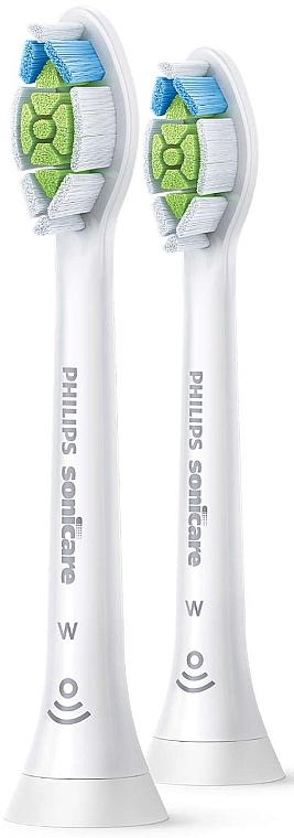 Стандартные насадки для звуковой зубной щетки, HX6062/10 - Philips Sonicare W Optimal White — фото N1