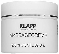 Духи, Парфюмерия, косметика Массажный крем - Klapp Massage Creame