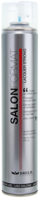 Лак для укладки сильной фиксации - Brelil Salon Format Lacquer Strong — фото N1