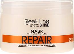 Духи, Парфюмерия, косметика Маска для волос - Stapiz Sleek Line Repair Hair Mask