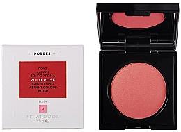 Духи, Парфюмерия, косметика Румяна для лица - Korres Wild Rose Brightening Vibrant Colour Blush