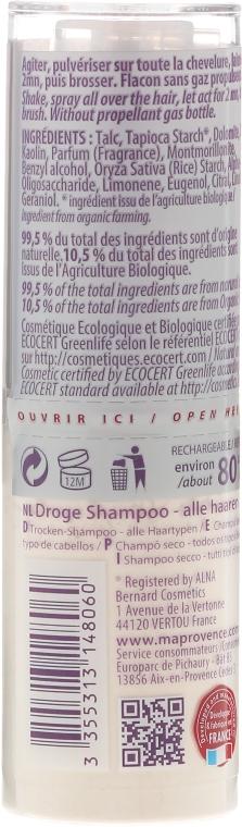 Сухой шампунь для волос - Ma Provence Dry Shampoo — фото N2