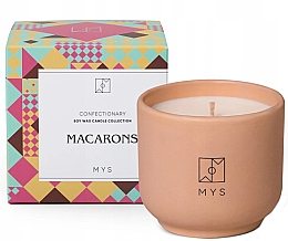 """Духи, Парфюмерия, косметика Соевая свеча """"Миндальное печенье"""" - Mys Macarons Candle"""