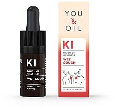 Духи, Парфюмерия, косметика Смесь эфирных масел - You & Oil KI-Wet Cough Touch Of Welness Essential Oil