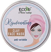 Духи, Парфюмерия, косметика Глиняная маска для лица против морщин - Eco U Anti-Wrinkle Clay Face Mask