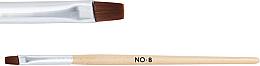 Духи, Парфюмерия, косметика Деревянная кисть для геля №8 - NeoNail Professional
