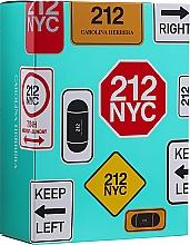 Духи, Парфюмерия, косметика Carolina Herrera 212 For Women - Набор (edt/100ml + edt/mini/10ml)