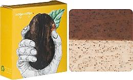 Духи, Парфюмерия, косметика Натуральное мыло-скраб с мятным маслом и кофе - Uoga Uoga Care for Coffee? Soap