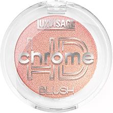 Духи, Парфюмерия, косметика Румяна для лица - Luxvisage HD Chrome Blush