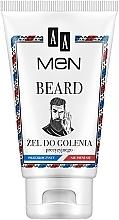 Духи, Парфюмерия, косметика Гель для бритья - AA Men Beard Shaving Gel