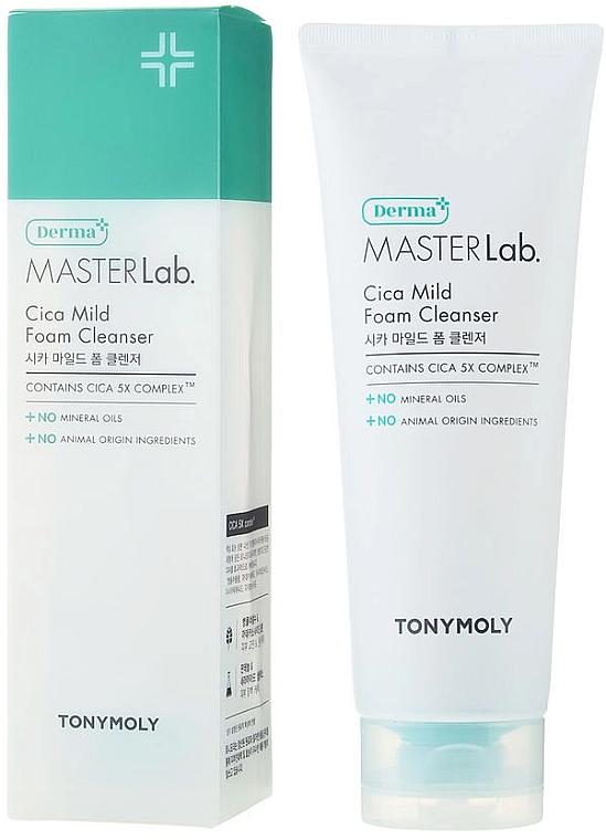 Пенка для умывания - Tony Moly Derma Master Lab Cica Mild Foam Cleanser — фото N1