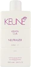 Духи, Парфюмерия, косметика Нейтрализатор для увлажнения и укрепления волос - Keune Keratin Curl Neutralizer 1:1