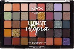 Духи, Парфюмерия, косметика Палетка теней - NYX Ultimate Utopia Shadow Palette Summer 2020