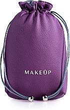 "Духи, Парфюмерия, косметика Кисет для косметики фиолетовый ""Pretty pouch"" - Makeup"